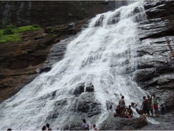 Sukeli Waterfalls at Kundalika